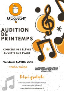 Audition de prIntemps
